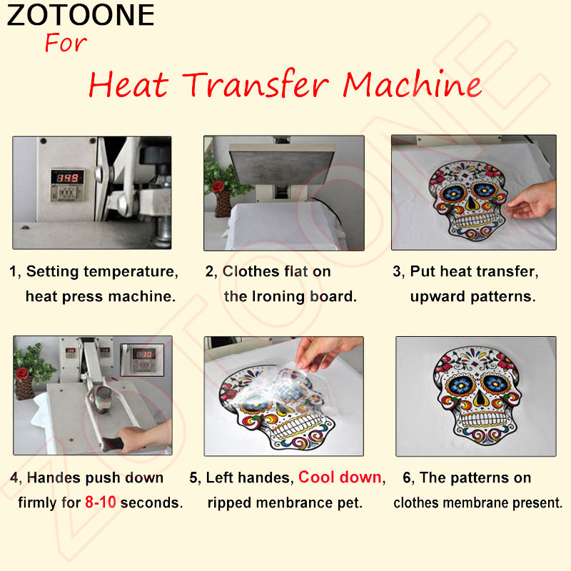 ZOTOONE Iron on Patches for Clothing Cute Animal Dog Heat Transfer Patches DIY Stripes Custom Patch Stickers Applique T shirt E in Patches from Home Garden