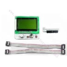 RAMPS1.4 LCD12864 Graphic Matrix Display Module Intelligent Controller For 3d printer parts /Accessories Free Shipping