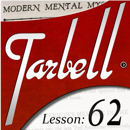 2016 Tarbell 62: Modern Mental Mysteries Deel 1 -Magic tricks