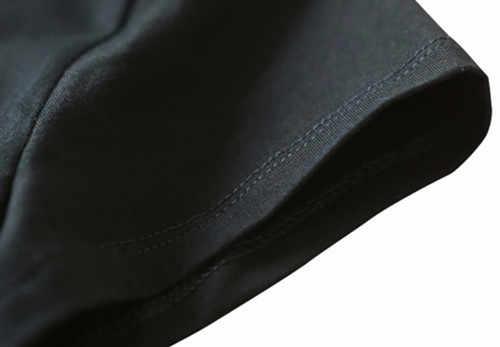 Camiseta de lejía máscara hueca Ichigo banku Anime Cosplay negro Top novedad para hombre 2019 camiseta de moda de verano para hombre tee