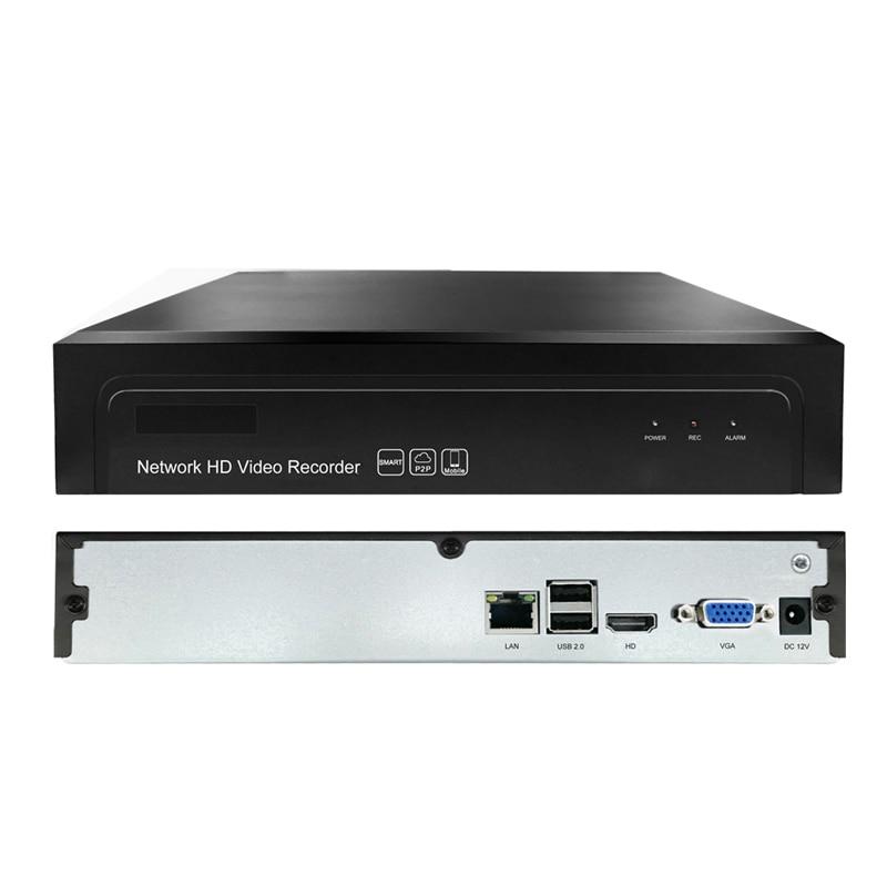 16CH 5MP 1HDD NVR H.265+/H.265/H.264 CCTV UHD DVR Network Video Recorder Onvif 2.6 IP Camera 1 SATA P2P Cloud AEeye2.0