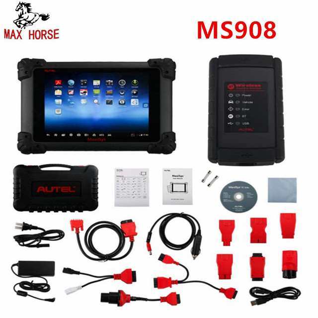 Best Offers Autel Maxisys MS908 Automotive Diagnostic Scanner Tool and Analysis System with All Systems Diagnosis and Advanced Coding