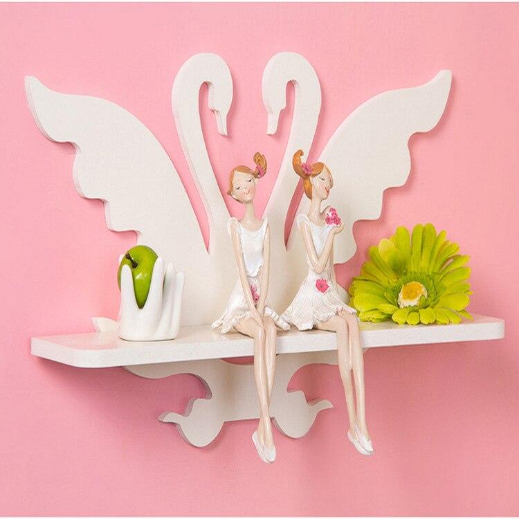 NEW White Swan Shelf Wall Rack Home Decorative Furniture Wall ...