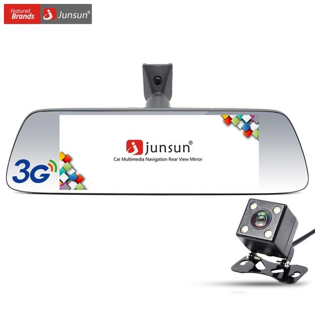 Junsun 7 polegada carro navegador gps android 5.0 com espelho dvr Bluetooth Embutido 16 GB sat nav Eeurope RU EUA Mapas Atualizações Gratuitas