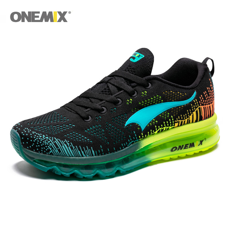 Onemix Air Running Shoes for Men Summer Sneaker Super Light Shoes Breathable Athletic Shoes sport air