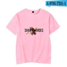 Shawn Mendes Tshirt Short Sleeve  Canada Popular Singer Printed Shirts Unisex Hip Hop Clothing Plus Size Shawn Mendes Clothing недорго, оригинальная цена