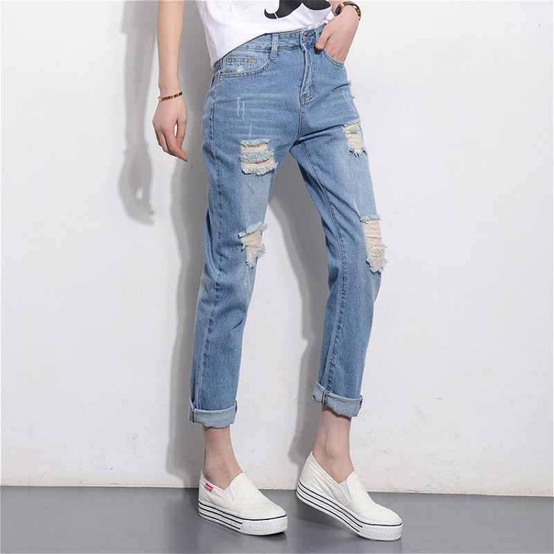 Compare Prices on Boyfriend Jeans Fashion- Online Shopping/Buy Low ...