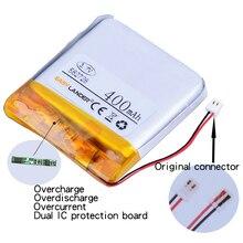 Li-ion para Q50 Y3 das Crianças 582728 3.7 V 400 Mah 1.48wh G700s Recarregável LI Polímero Bateria K92 G36 Inteligentes Relógios 582828