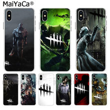 MaiYaCa horror Dead by Daylight Soft TPU silicone Unique Design Phone Case for Apple iPhone 8 7 6 6S Plus X 5 5S SE XR XS XS MAX(China)