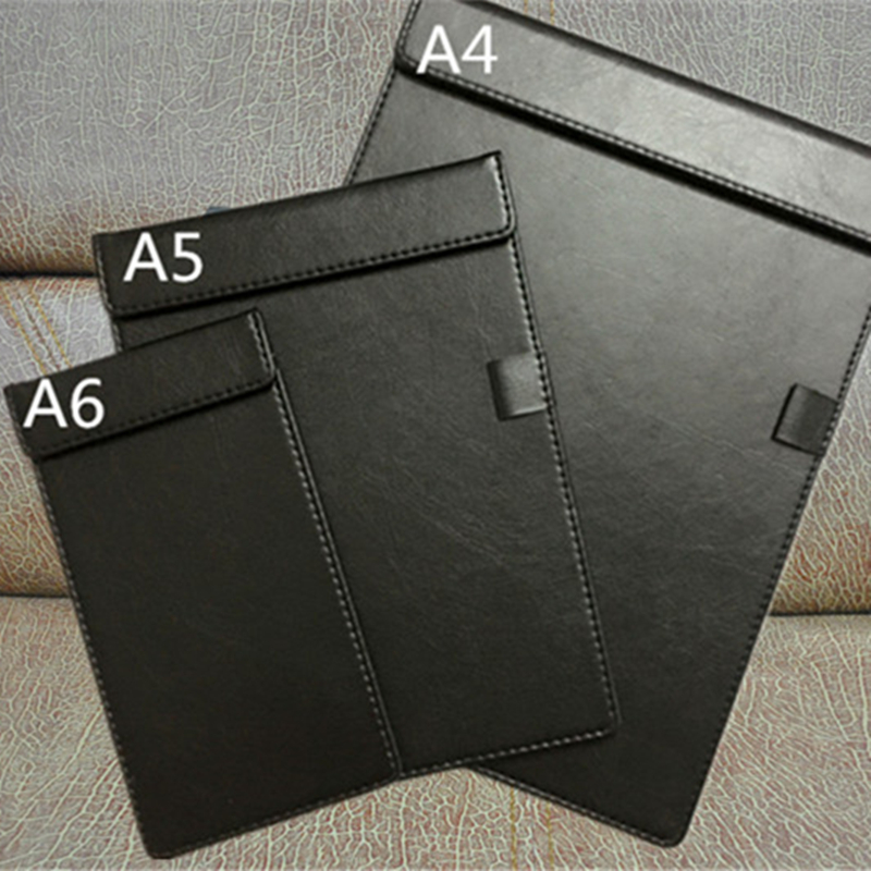 MIRUI Signature Folder Board Leather Writing Pad Hotel Conference Padfolio Leather Manager Filing Products