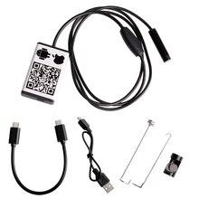 Wifi inspección endoscopio endoscopio serpiente cámara 1 m 3.5 m 5 mpara iphone ios android nuevo