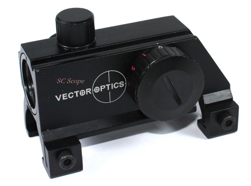 ФОТО Vector Optics MP5 G3 1x20 Compact Claw Red Dot Rifle Scope Reflex Sight