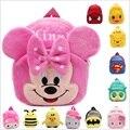 2 estilos Mickey y Minnie morral de la felpa animales de dibujos animados juguetes figuras juguetes bebé de la alta calidad juguetes de estudio #ML0275