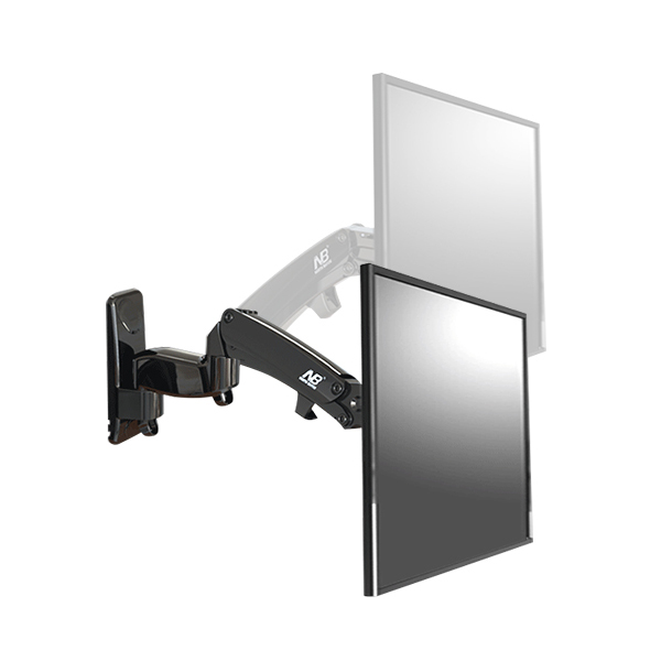 NB F500 air press Gas spring dual Long arm50-60 14-23kg full motion Monitor wall bracket LCD PLASMA tv mount lcd holder support md 3414 full motion до 60