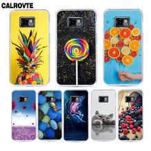 Đầy màu sắc In Ấn Rõ Ràng Silicone Trường Hợp đối Với Samsung Galaxy S2 i9100 Điện Thoại Túi Cover Quay Lại Shell Coque đối với Galaxy S2 Cộng Với i9105