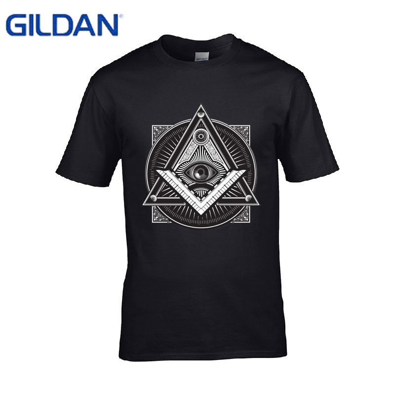Short t shirts illuminati designs mens black t shirts How to design shirt