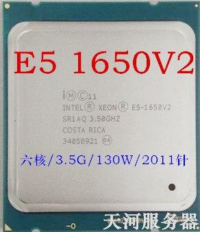 / E5 1650V2 CPU official version 3.5Ghz six nuclear 12 thread 1650