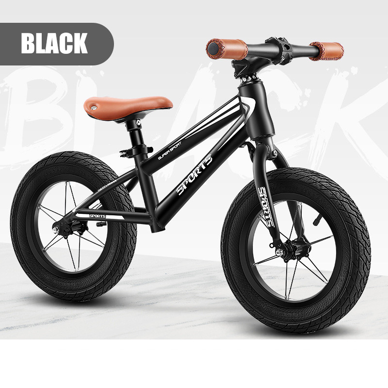 "Brand New 12"" Balance Bike Kids Balance Bicycle For 2~9 Years Old Children No-Pedal Complete bike Aluminium alloy Ultralight 3"