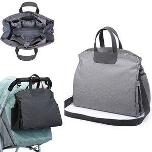 Image 1 - 2020 Diaper Bag for Mom Nappy Shoudler Messenger Bags Mother Travel Luiertas Stroller Baby Infant Organizer Nursing to care
