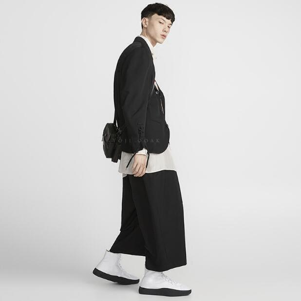 Haute Catwalk Cheveux 27 Gd New Taille Large Pantalon La 2018 Costumes Hot Jambe Vêtements Noir Rue Lâche Plus Styliste Hommes Mode De 44 8Owgq5P
