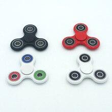 3 видов цвета Tri Spinner Непоседа Игрушки Пластиковые EDC Руки счетчик Для Аутизма и СДВГ Вращения Долгое Время Анти-Стресс Игрушки