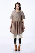 tunic vestidos femininos robe elbise lolita mujer mori wool maxi batas vestido de festa longo crochet