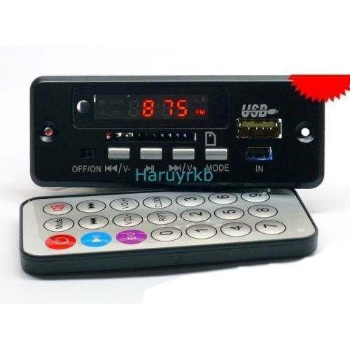 Digital LED Bluetooth Receiver Module Amplifier Mp3 Decoder Board+ Call Functions Module Usb FM Player