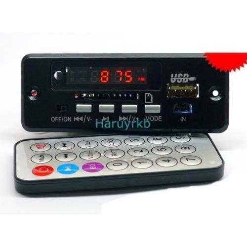 LED Digital receptor Bluetooth Módulo Amplificador Módulo usb FM reproductor de mp3 decodificador bordo + funciones de Llamada