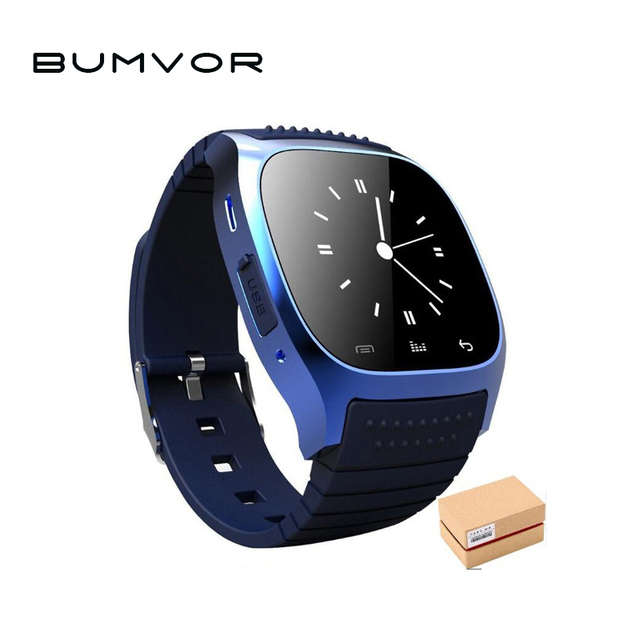 Waterproof Smartwatch M26 Bluetooth Smart Watch With LED Alitmeter Music Player