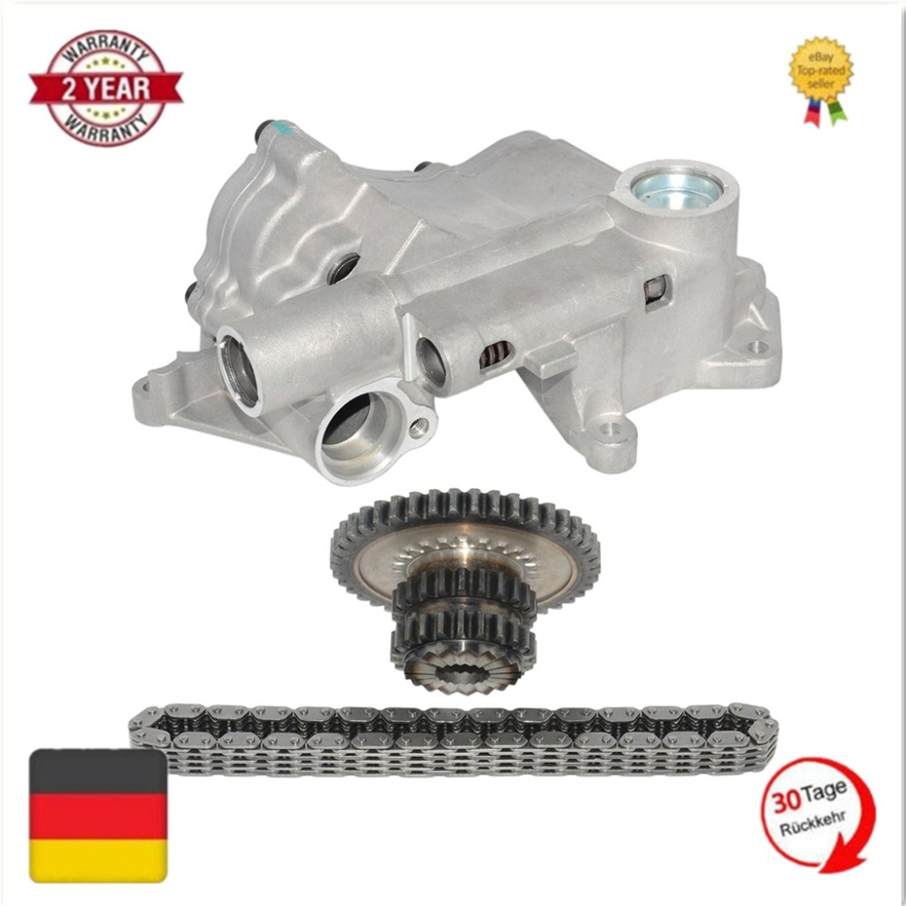 цены на Oil Pump Kit New For VW Passat B6 Golf Jetta GTI MK5 MK6 CC Beetle A3 TT Octavia Seat 06J115105AB 06H109507N 06H115225L  в интернет-магазинах