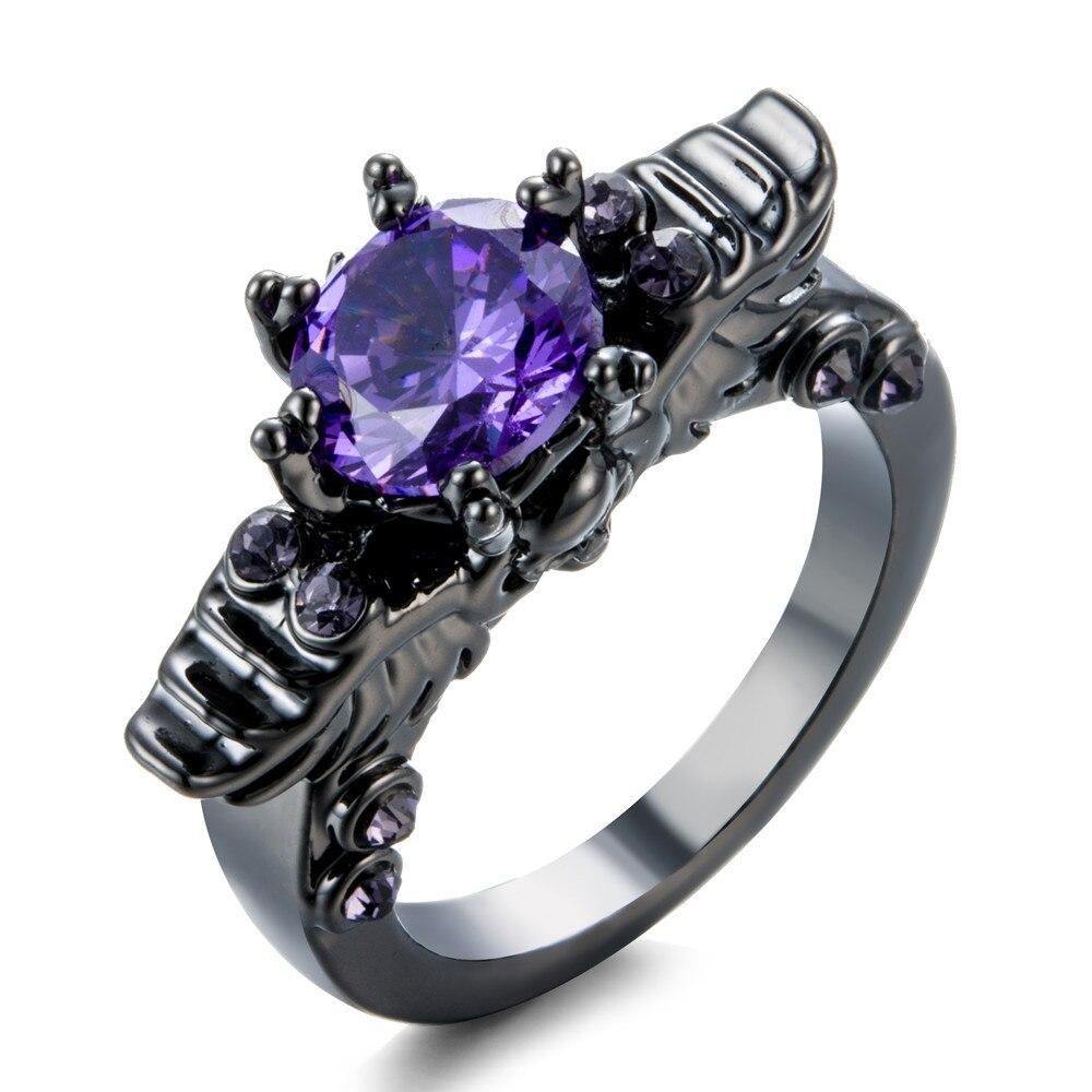 Aliexpress.com : Buy Black Color Alloy Ring Skull Ring
