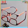 Tr90 óculos de armação de quadros Designer de óculos para crianças meninos meninas óculos de lente de óculos de Grau DD0651-1