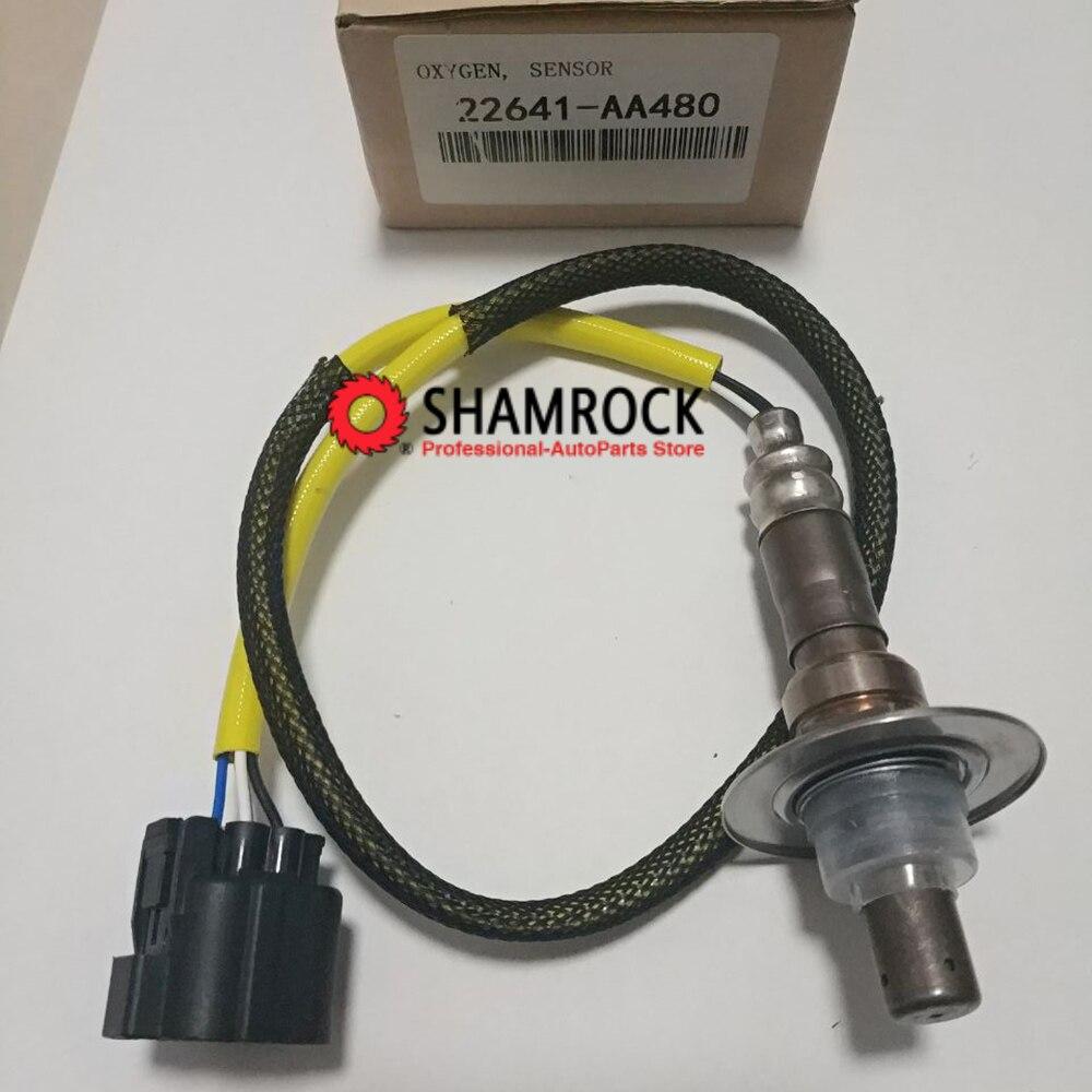 Capteur d'oxygène avant O2 Lambda OEM 22641-AA480/22641AA480/22641-AA381/22641AA381 pour Impreza FORESTER legacy EJ204 2006 2.0L
