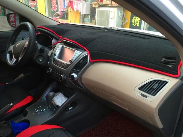 dashmats auto-stiilis tarvikud armatuurlaua kate Hyundai tuscon ix35 - Auto salongi tarvikud