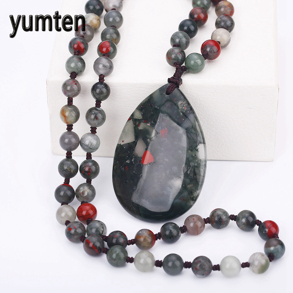 Crystal Water Drop Pendant Necklace Pendant For Men s Women s Aquatic Agate Fashion Party Love