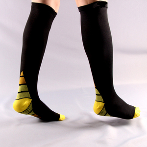 Image 2 - 6pair/lot Men and women Compression Socks gradient Pressure Circulation Anti Fatigu Knee High Orthopedic Support Stocking