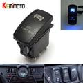 1 SET For Polaris RZR XP 900 1000 Ranger 14 15 LED Blue Rear Light and Light Bar Rocker Switch UTV
