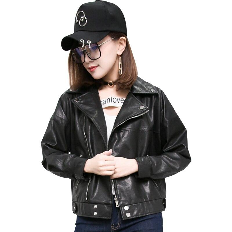 Cuir Longues Manches Court Black Agneau En À Veste Léger Vente Bourgogne Femmes Noir Tirette Moto Meilleur Vestes 5FfqwnO