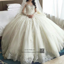 Lave U Me Gelinlik Wedding Dress Long Sleeve Ball Gown