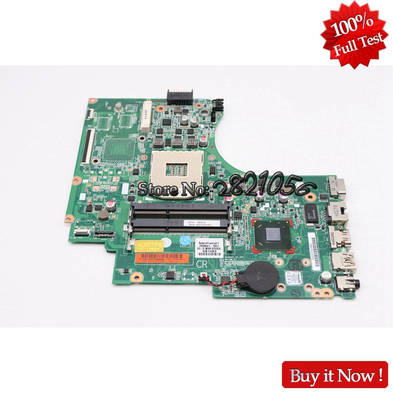 NOKOTION Laptop Motherboard 747262-501 For HP 15-D 240 G2 246 G2 747262-001 Main Board HM76 GMA HD DDR3 Full Tested 747262 001 for hp 240 246 g2 14 d series laptop motherboard p n 010194g00 35k g hm76 mainboard rpga989 100