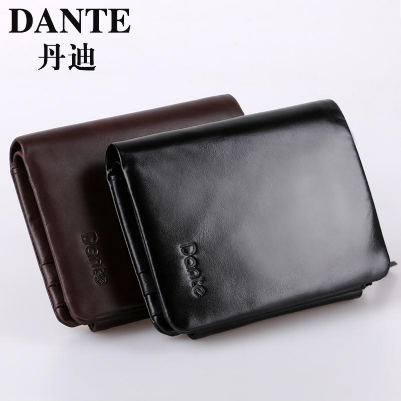 ФОТО 2014 New Design 100% Genuine Leather Wallet, Oil wax leather High-grade Man Purse, Fashion men Clutch bag + luxury gift box TSD3