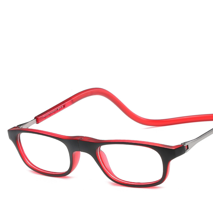 reading vintage glasses Fashion personality magnets can be hung on the neck for old men and women gafas lentes de lectura oculos