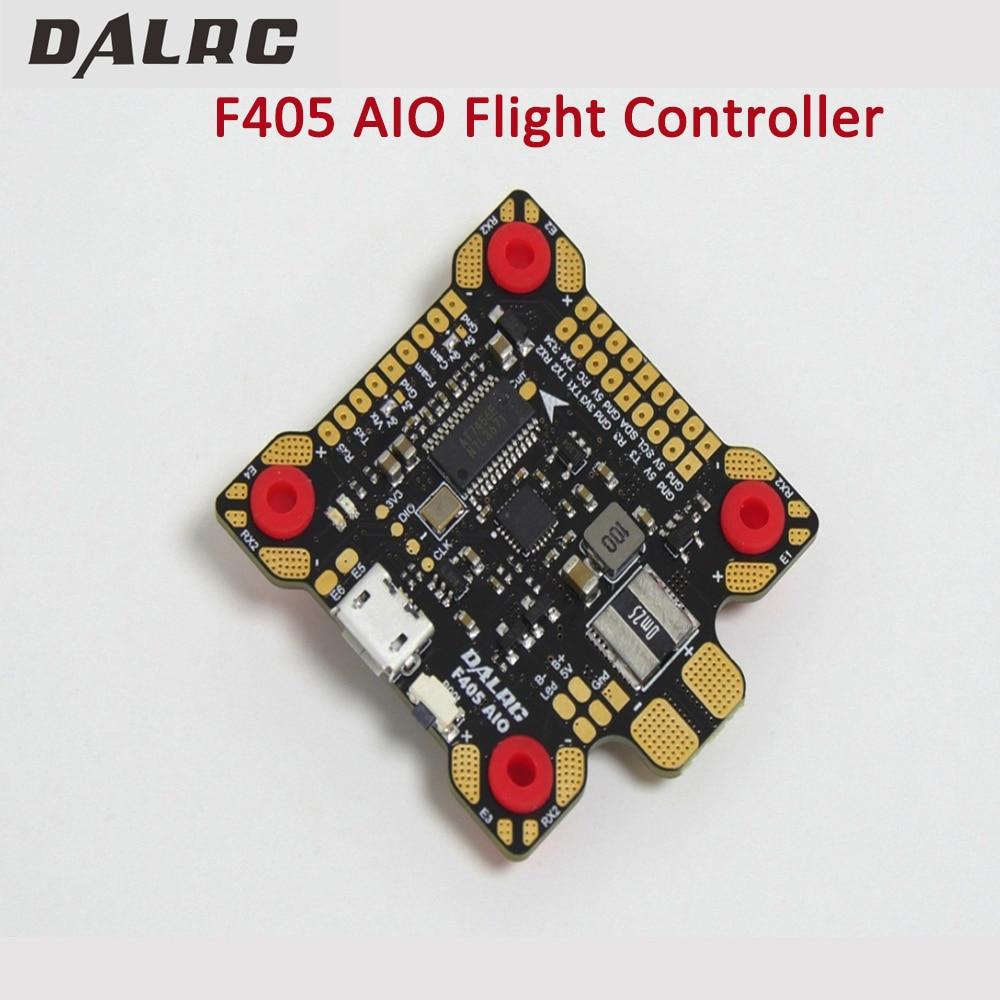 DALRC F405 AIO Controllore di Volo MCU STM32F405RGT6 MPU6000 Gyro F4 di Controllo di Volo Costruito in OSD BEC 9 v/3A PDB per FPV Da Corsa Dron