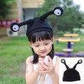 Sombrero de Corea del Animal de la historieta encantadora Accesorios de Fotografía infantil bebé Recién Nacido tejer gorras de niños del invierno más cálido muchachos de las muchachas