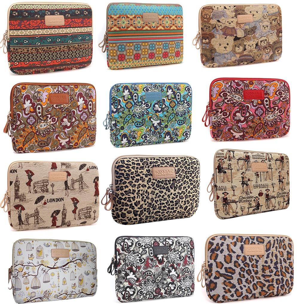 kinmac bohemian laptop sleeve bag case for 10 11 12 13. Black Bedroom Furniture Sets. Home Design Ideas