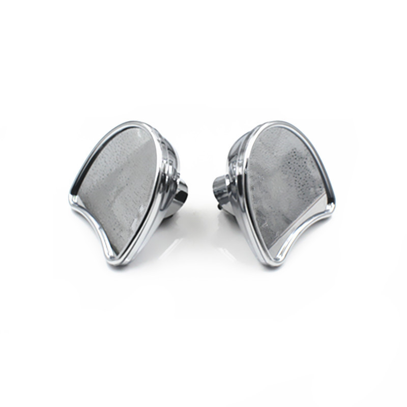 2X Motorcycle Wide Angle Fairing Mount Mirrors For 2014 2018 Harley Street Glide FLHX Electra Glide