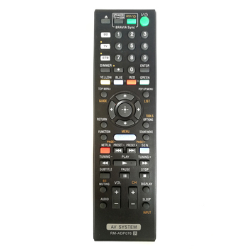(10 PCS/lot) New Replace RM-ADP076 Blu-ray Disc DVD Home Theater AV System Remote Control For Sony BDVN890W