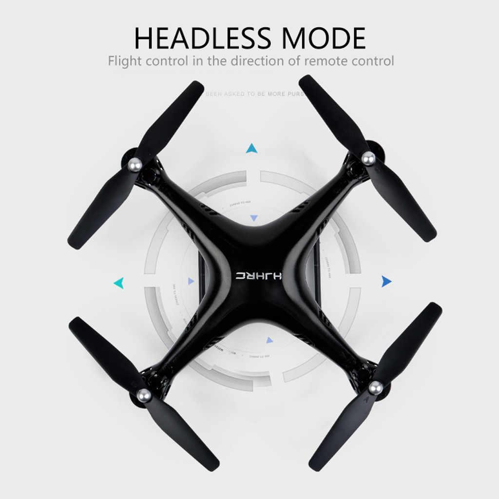 Симулятор полета пульт дистанционного управления HJ18W 2,4 ГГц FPV Wifi 1080 P HD камера Пульт дистанционного управления RC Quadcopte Selfie Drone D300301