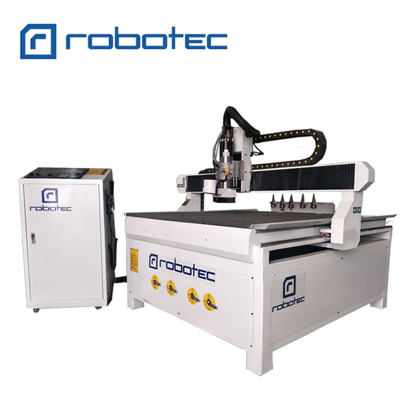 High end atc cnc milling machine 1212 1224 wood working cnc router for metal marble stone