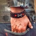 2016 New DIY Strand Bracelets Agate Beads 8mm Matte Agate Stone Beads Balance Paw Bracelete Feminino Yoga Reiki Prayer Bead